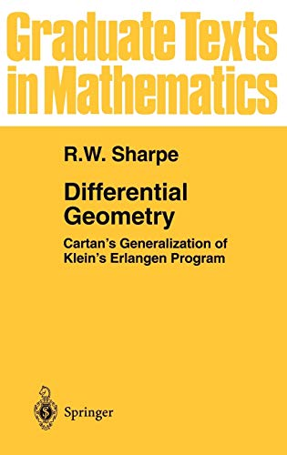 9780387947327: Differential Geometry: Cartan's Generalization of Klein's Erlangen Program (Graduate Texts in Mathematics)
