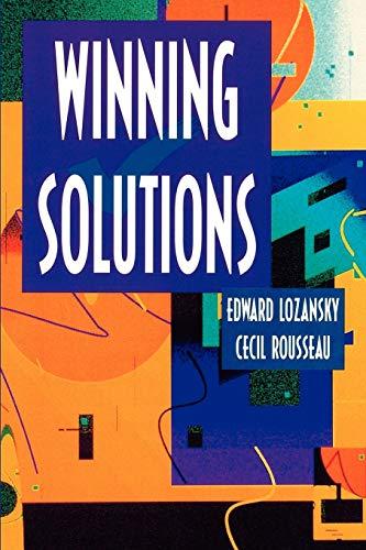 9780387947433: Winning Solutions (Problem Books in Mathematics)