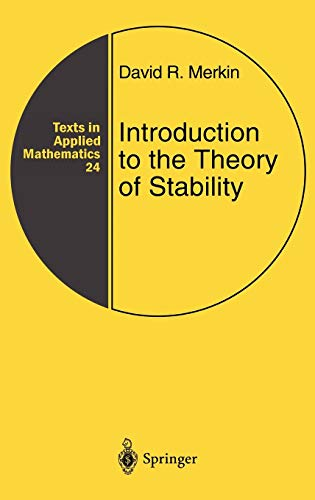 9780387947617: Introduction to the Theory of Stability
