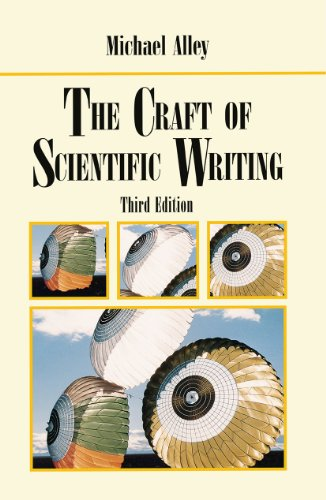 9780387947662: The Craft of Scientific Writing