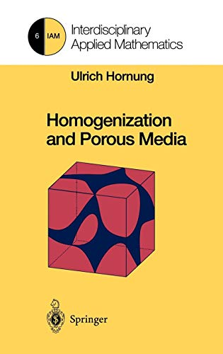 9780387947860: Homogenization and Porous Media (Interdisciplinary Applied Mathematics)