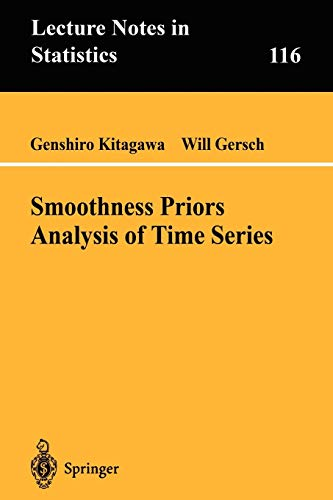 9780387948195: Smoothness Priors Analysis of Time Series (Lecture Notes in Statistics)