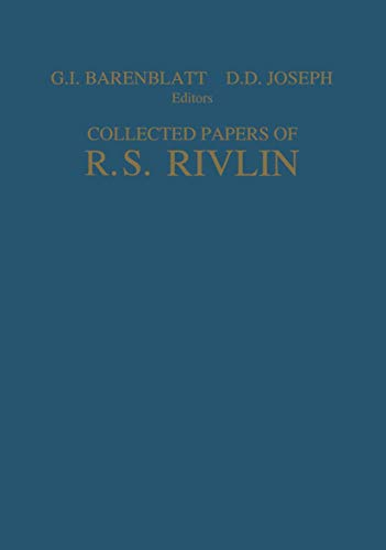 9780387948256: Collected Papers of R.S. Rivlin: Volume I and II (v. 1 & v. 2)
