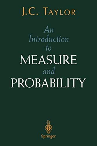 9780387948300: An Introduction to Measure and Probability (Textbooks in Mathematical Sciences)