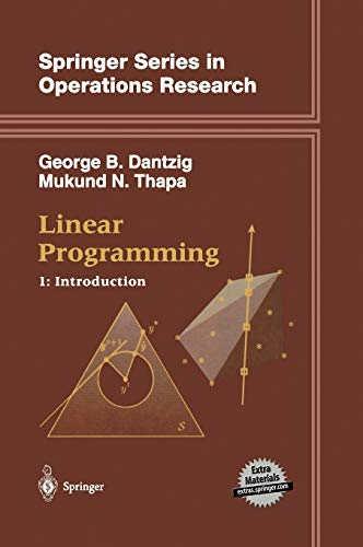 9780387948331: Linear Programming 1: Introduction: Introduction v. 1 (Springer Series in Operations Research and Financial Engineering)