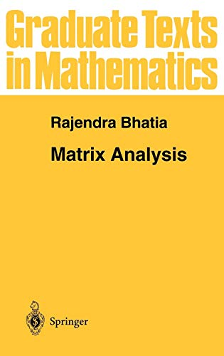 9780387948461: Matrix Analysis