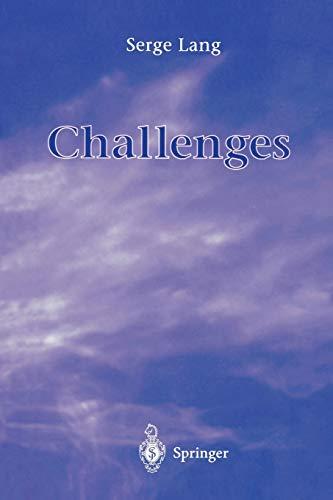 9780387948614: Challenges
