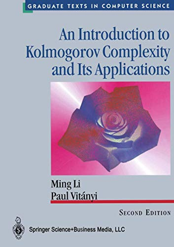 9780387948683: AN INTRODUCTION TO KOLMOGOROV COMPLEXITY AND ITS APPLICATIONS