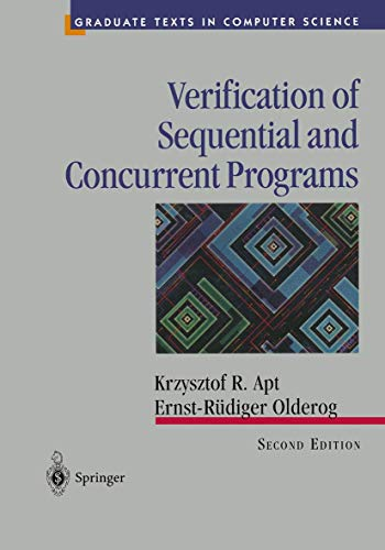 9780387948966: Verification of Sequential and Concurrent Programs (Texts in Computer Science)