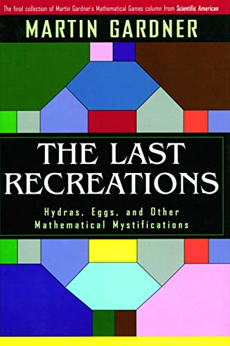 The Last Recreations: Hydras, Eggs, and Other: Martin Gardner