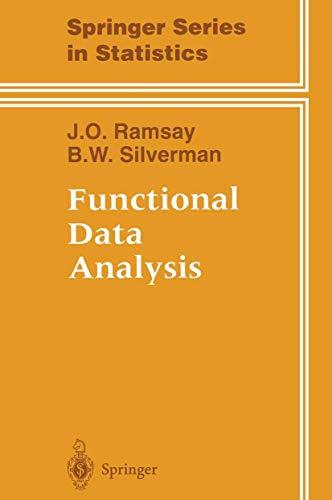 9780387949567: Functional Data Analysis (Springer Series in Statistics)