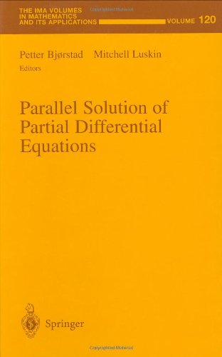 9780387950082: Parallel Solution of Partial Differential Equations (The IMA Volumes in Mathematics and its Applications)