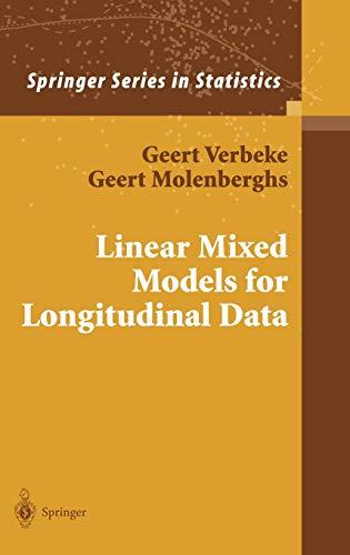 9780387950273: Linear Mixed Models for Longitudinal Data (Springer Series in Statistics)