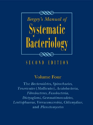 9780387950426: Bergey's Manual of Systematic Bacteriology: The Bacteroidetes, Spirochaetes, Tenericutes (Mollicutes), Acidobacteria, Fibrobacteres, Fusobacteria, Dictyoglomi, Gemmatimonadetes, Lentisphaerae, V: 4