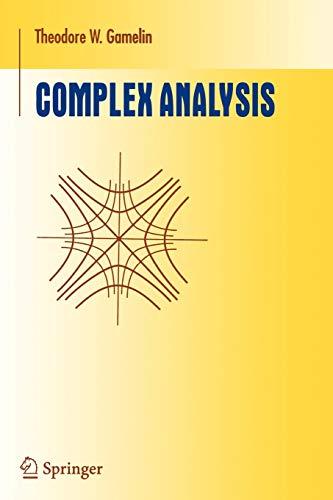9780387950693: Complex Analysis (Undergraduate Texts in Mathematics)
