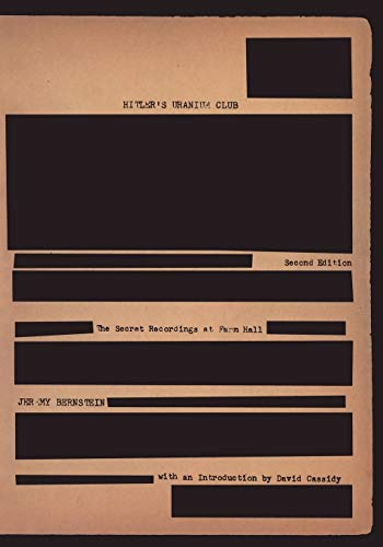 9780387950891: Hitler's Uranium Club: The Secret Recordings at Farm Hall