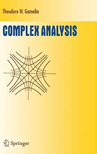 9780387950938: Complex Analysis (Undergraduate Texts in Mathematics)