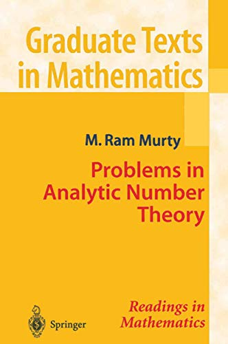 9780387951430: Problems in Analytic Number Theory (Graduate Texts in Mathematics)