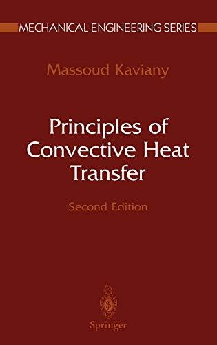 9780387951621: Principles of Convective Heat Transfer (Mechanical Engineering Series)