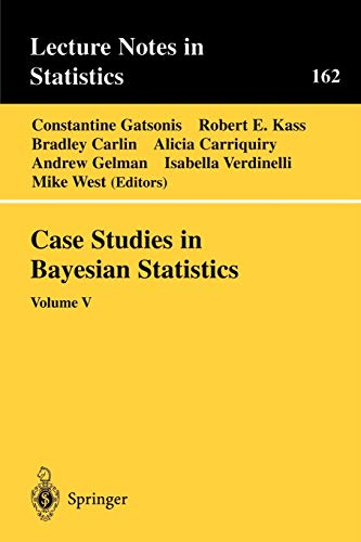 9780387951690: Case Studies in Bayesian Statistics: Volume V (Lecture Notes in Statistics)