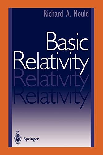 9780387952109: Basic Relativity