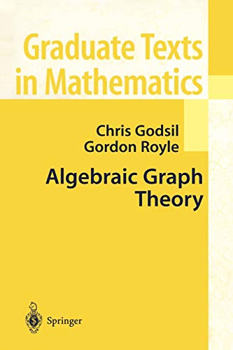 9780387952208: Algebraic Graph Theory (Graduate Texts in Mathematics)