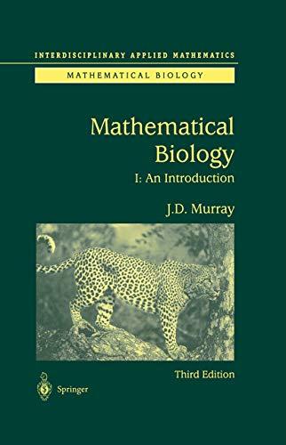 9780387952239: Mathematical Biology: I. An Introduction (Interdisciplinary Applied Mathematics) (Pt. 1)