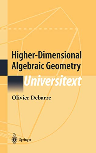 9780387952277: Higher-Dimensional Algebraic Geometry