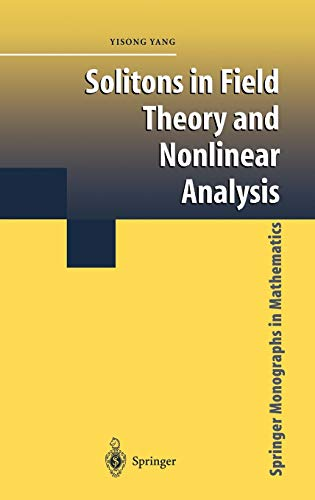 9780387952420: Solitons in Field Theory and Nonlinear Analysis