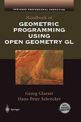9780387952727: Handbook of Geometric Programming Using Open Geometry GL (Springer Professional Computing)