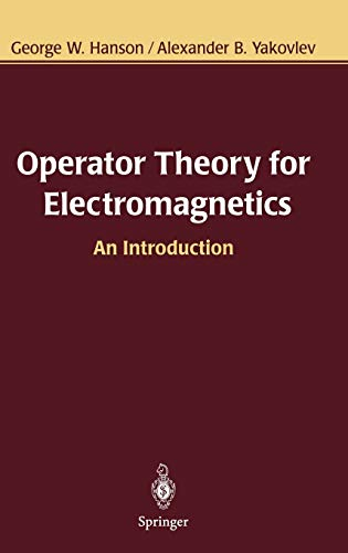 9780387952789: Operator Theory for Electromagnetics: An Introduction