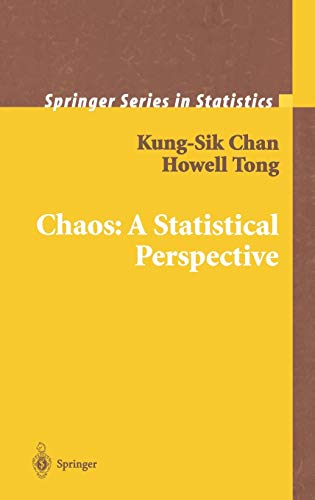 9780387952802: Chaos: A Statistical Perspective (Springer Series in Statistics)