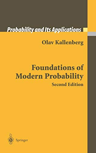 9780387953137: Foundations of Modern Probability (Probability and Its Applications)