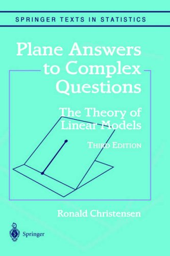 Download PDF Plane Answers to Complex Questions: The Theory of