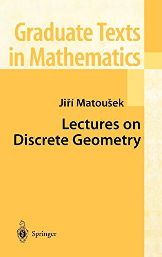9780387953731: Lectures on Discrete Geometry (Graduate Texts in Mathematics)