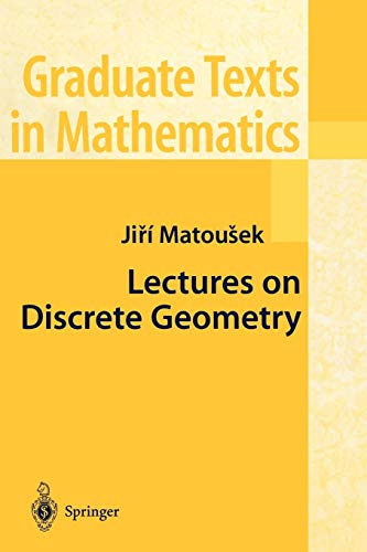 9780387953748: Lectures on Discrete Geometry (Graduate Texts in Mathematics)