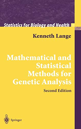 Mathematical and Statistical Methods for Genetic Analysis: Lange, Kenneth