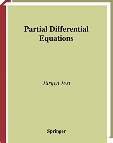 Partial Differential Equations (Graduate Texts in Mathematics): Jürgen Jost