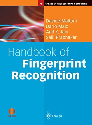 9780387954318: Handbook of Fingerprint Recognition (Springer Professional Computing)