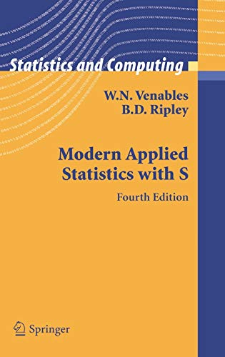 9780387954578: Modern Applied Statistics with S (Statistics and Computing)