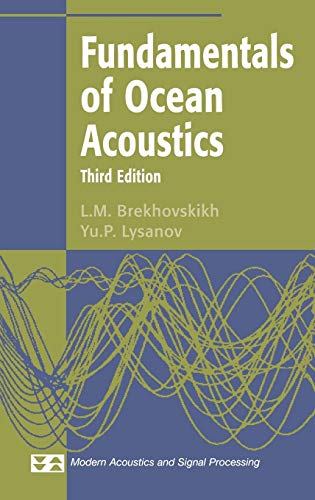 9780387954677: Fundamentals of Ocean Acoustics (Modern Acoustics and Signal Processing)