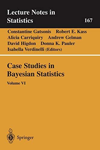 9780387954721: 6: Case Studies in Bayesian Statistics: Volume VI (Lecture Notes in Statistics)