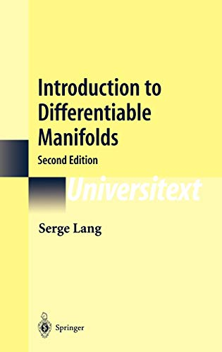 9780387954776: Introduction to Differentiable Manifolds (Universitext)