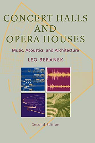 Concert Halls and Opera Houses: Music, Acoustics,: Beranek, Leo