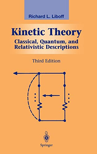 9780387955513: Kinetic Theory: Classical, Quantum, and Relativistic Descriptions (Graduate Texts in Contemporary Physics)