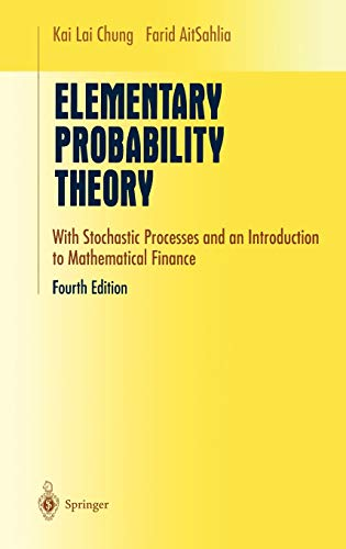 9780387955780: Elementary Probability Theory: With Stochastic Processes and an Introduction to Mathematical Finance (Undergraduate Texts in Mathematics)