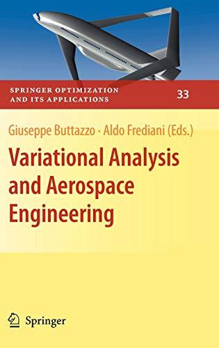 Variational Analysis and Aerospace Engineering: Buttazzo, Giuseppe (EDT)/ Frediani, Aldo (EDT)