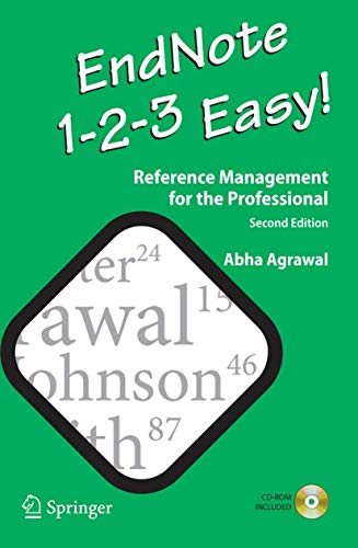 9780387959009: EndNote 1 - 2 - 3 Easy!: Reference Management for the Professional