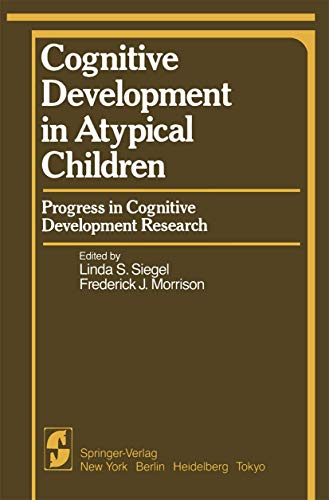 Cognitive development in atypical children