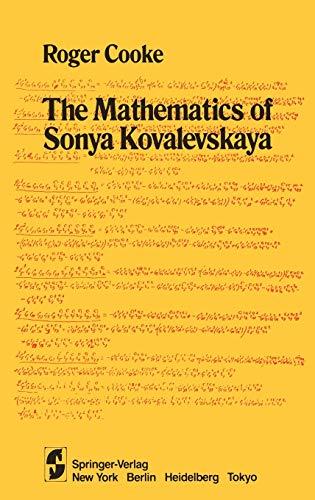 9780387960302: The Mathematics of Sonya Kovalevskaya